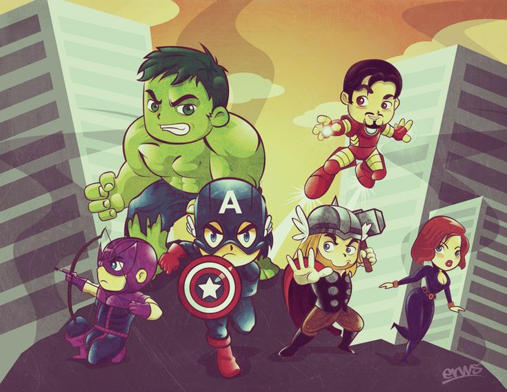 Mini Avengers Martin Erws