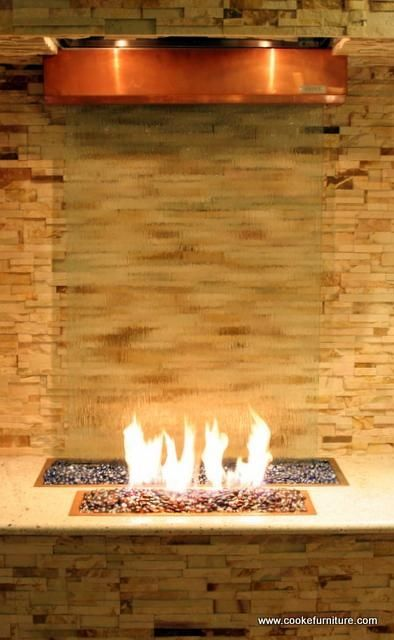 Water And Fire Feature Cam Pinterest