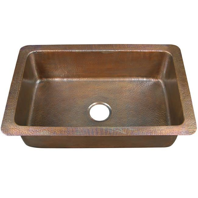 touch to your kitchen decor with a new sink. This large drop-in sink ...