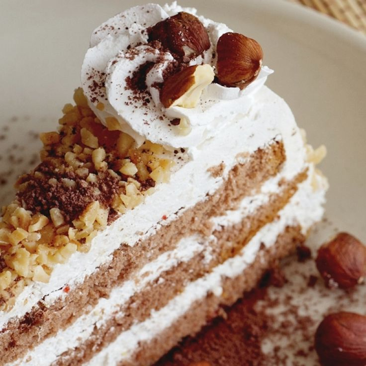 flavorful Maple Walnut Cake Recipe with a Sturdy Whipped Cream ...