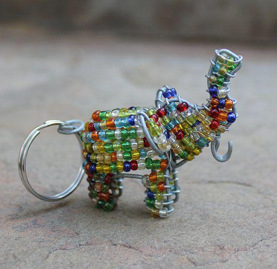 bead animal keychains crafts