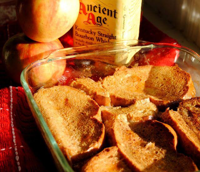 Apple Bourbon French Toast Casserole | Breakfast | Pinterest