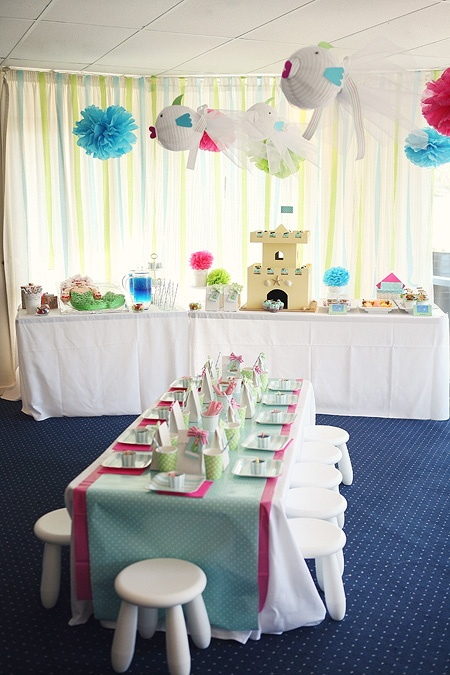 Mermaid party fit for a 3 year old!