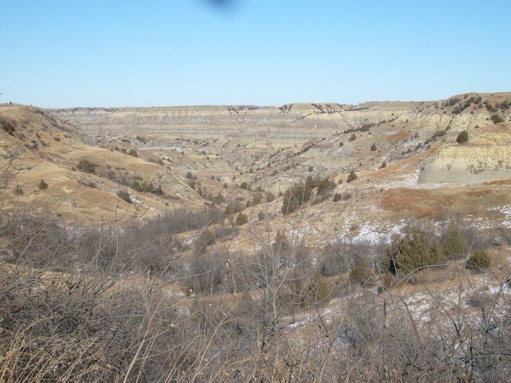 Badlands, North Dakota...