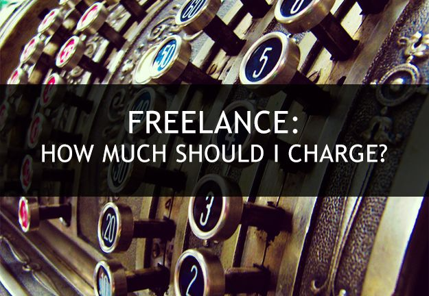 how much should i charge for freelance graphic design