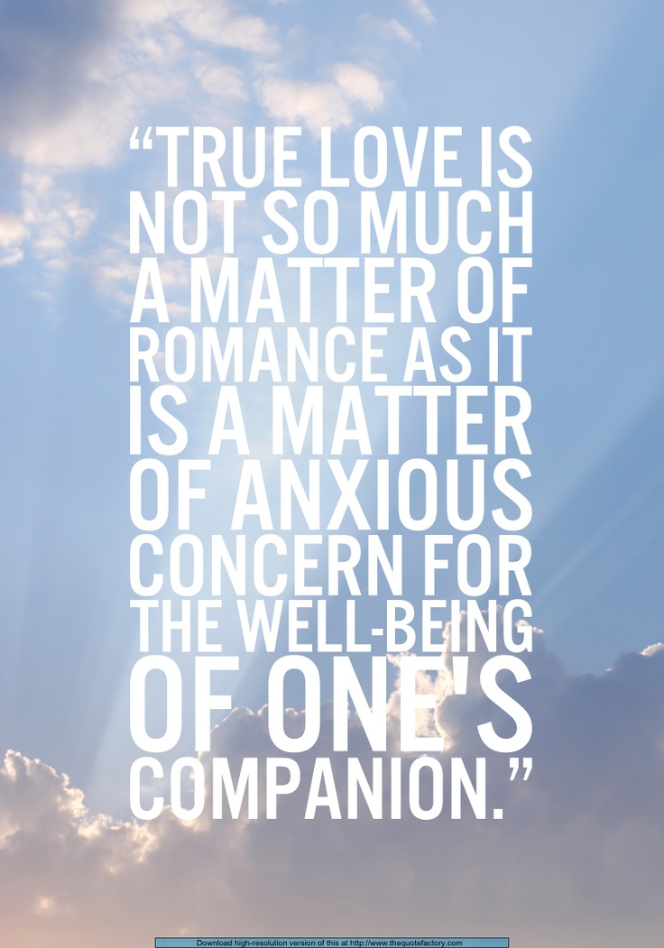 True love- Gordon B. Hinckley