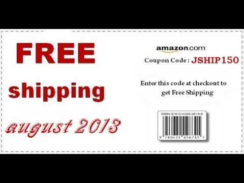 amazon free shipping code for books