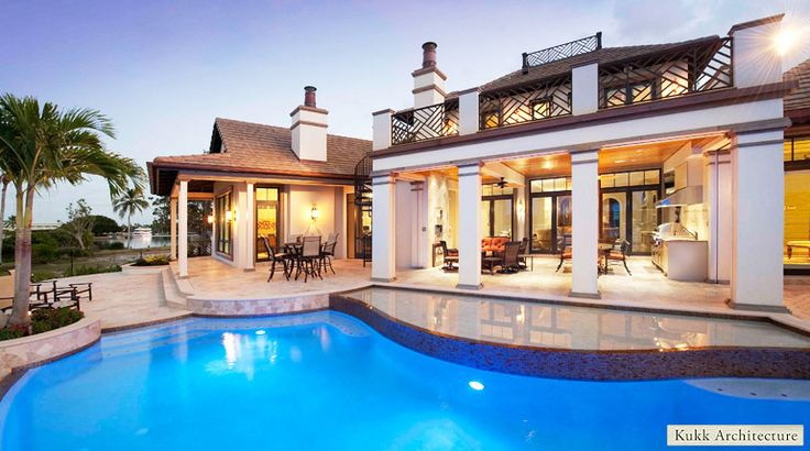 Florida Style Luxury Homes In Naples Florida