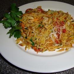 Vegetarian Lime Orzo Recipe -omit parmesan to make Vegan--kids like it ...