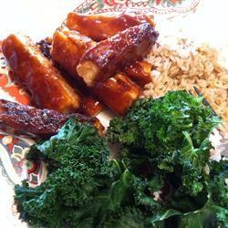 Crispy Barbequed Tofu Slices Allrecipes.com
