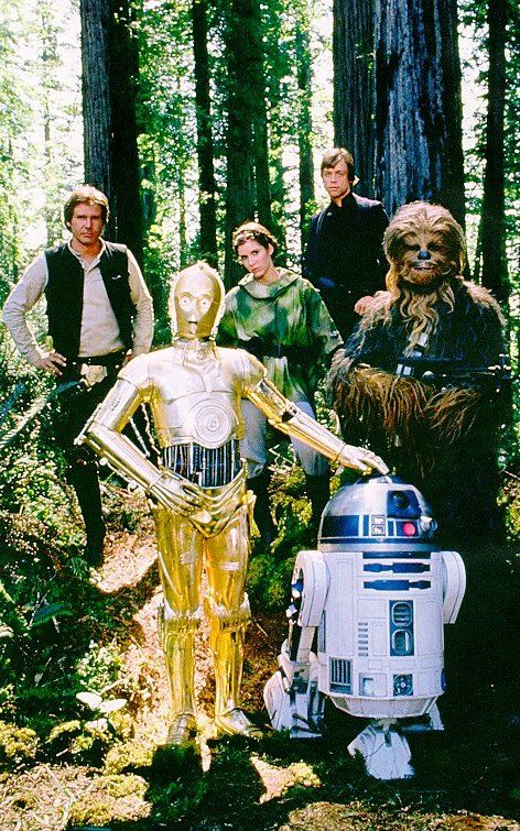 Return Of The Jedi Characters