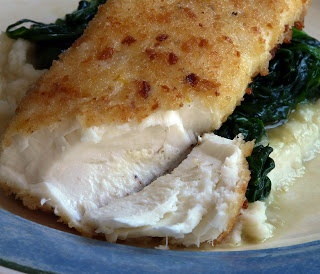 Parmesan-Crusted Halibut | Go Fish | Pinterest