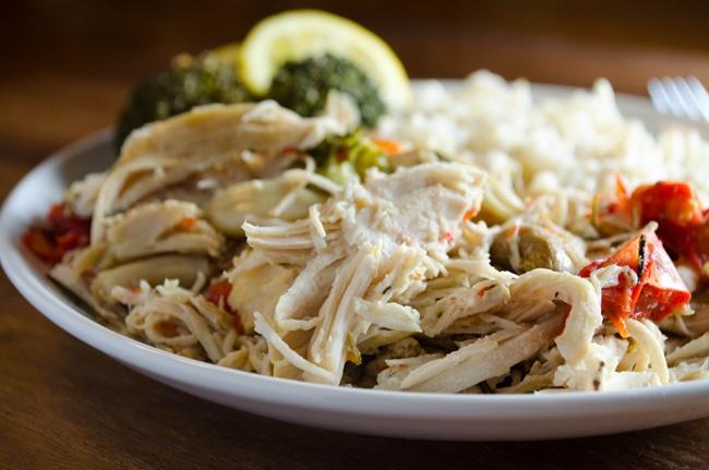 Slow Cooker Garlic Chicken | Crock Pot Recipes | Pinterest