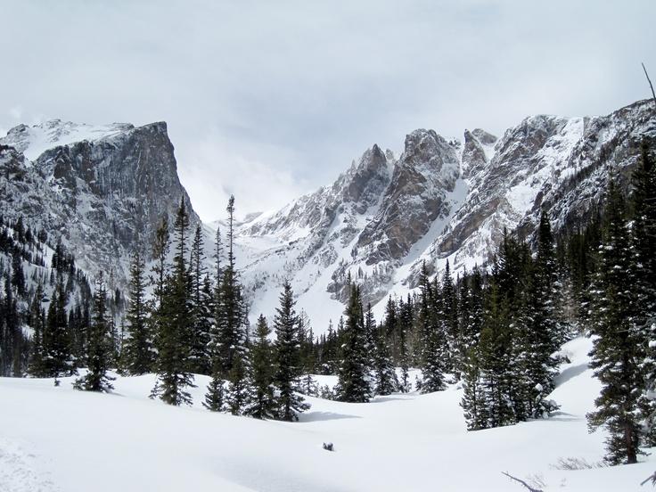 Dream Lake Rocky Mountain National Park Nature Shots