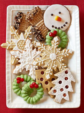 10 Favorite Holiday Cookie Recipes | Christmas cooking .. | Pinterest