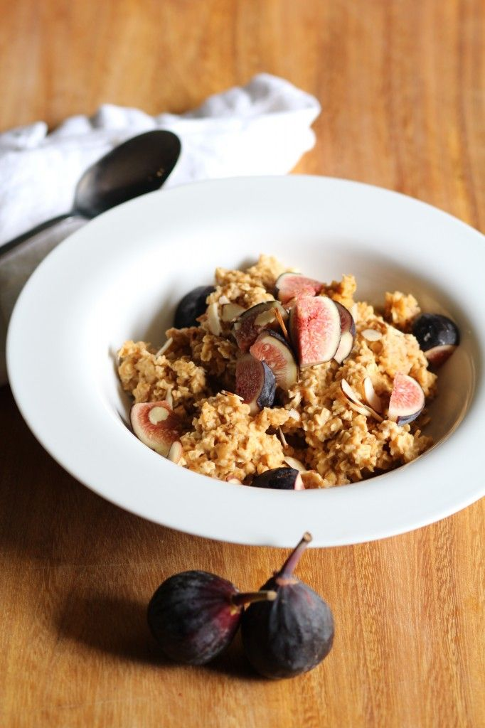 Pumpkin and Fig Oatmeal from Pidges Pantry
