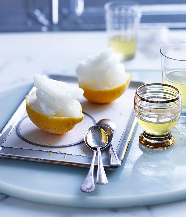 Lemon sorbetto :: Gourmet Traveller Magazine Mobile