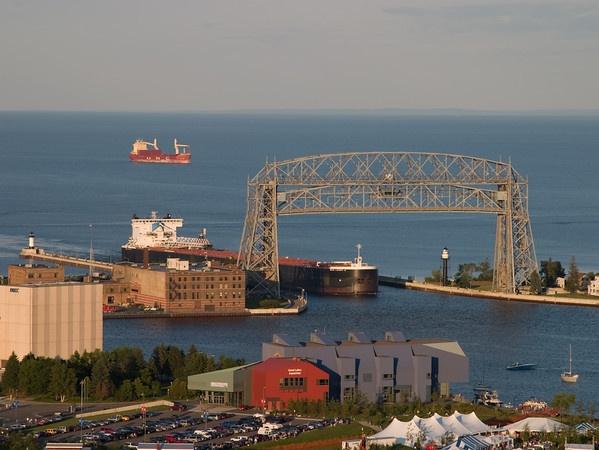 Bridge. Duluth.