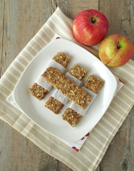 Vanilla & Spice: Apple Pie Energy Bars | Fall Crafts & Recipes with A...