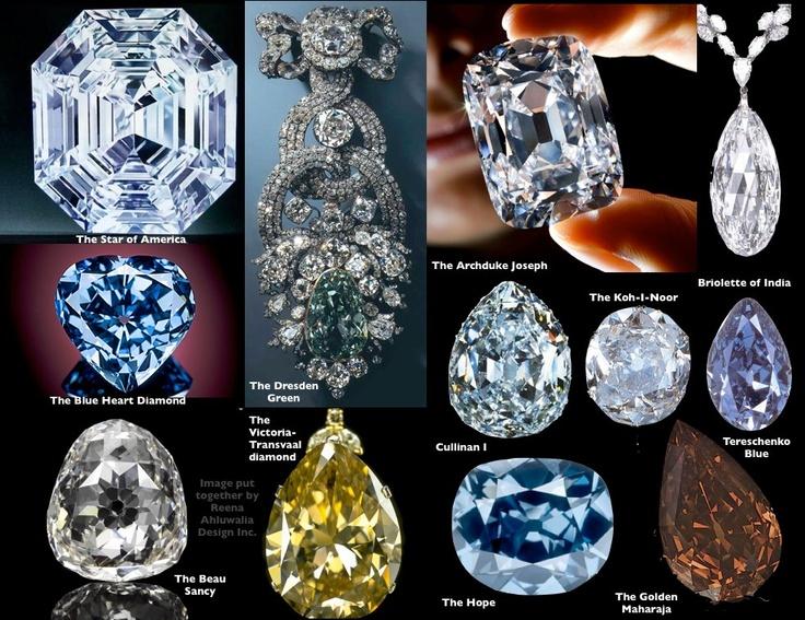Famous diamonds #diamonds | Famous Jewels | Pinterest