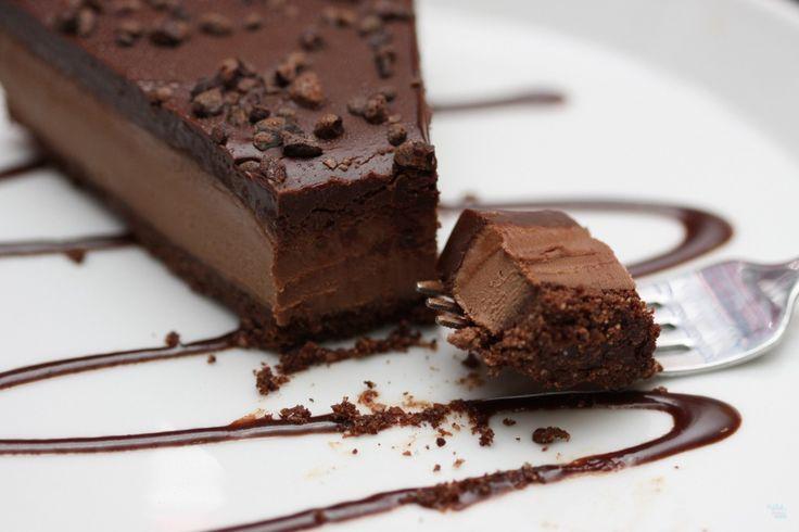 Raw Chocolate Mocha Cake | | Desserts | Pinterest