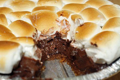 S'mores Pie | Recipe