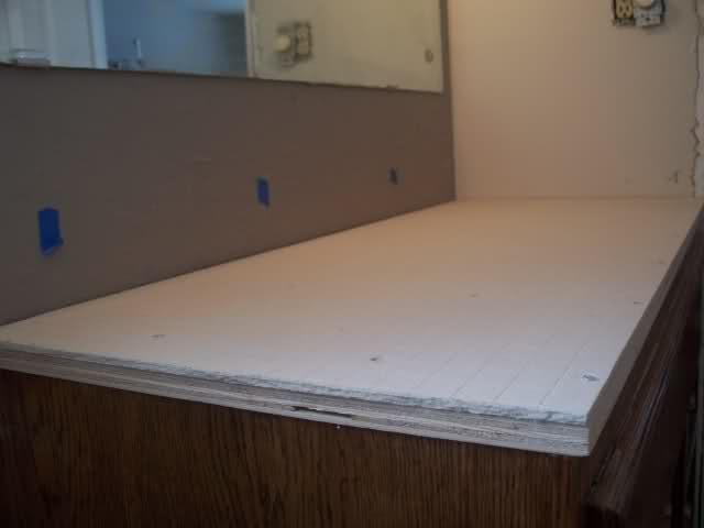 Tile Vanity Top Ideas : Tiled vanity top bathroom ideas pinterest