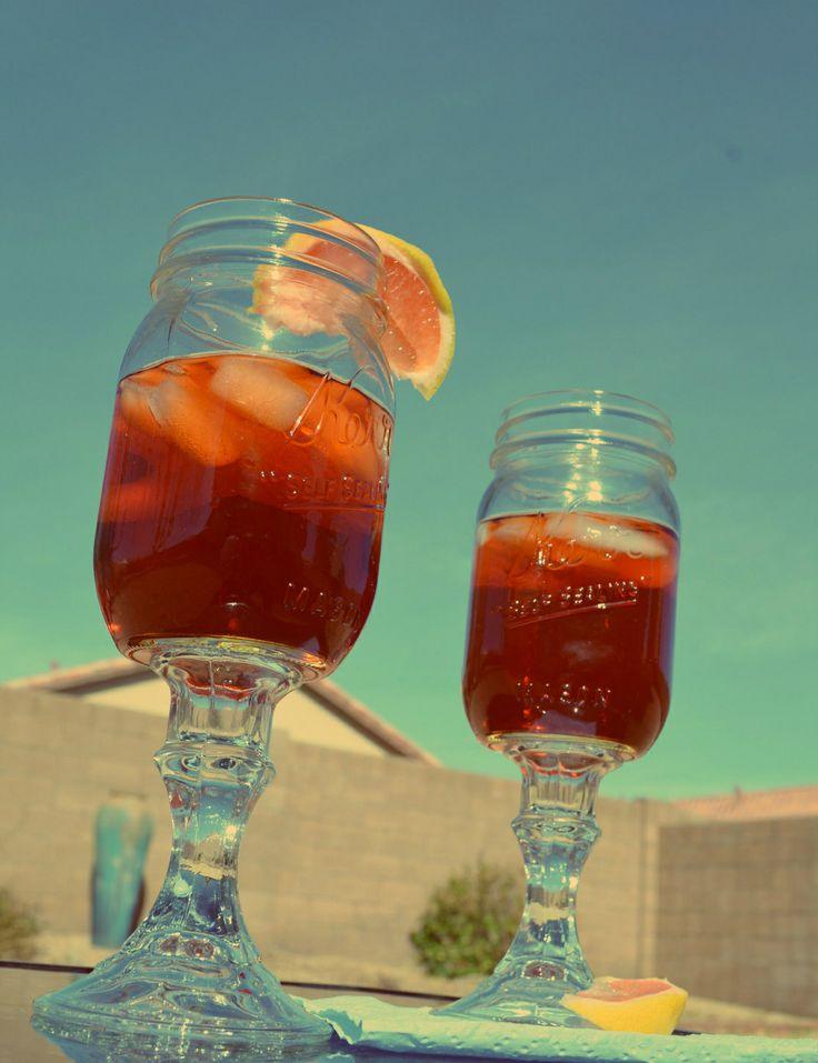 Mason jar wine glass crafts - Mason jar goblets ...