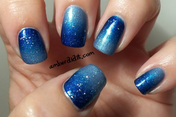 Amber did it!: Wild Blue Gradient