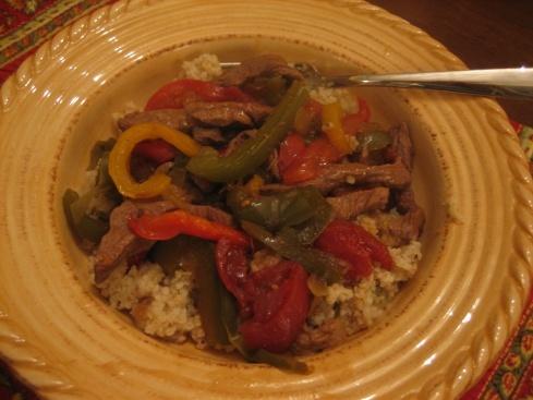 Slow Cooker Pepper Steak | slow cooker recipes | Pinterest