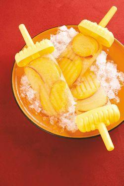 Recipe: Nectarine Summer Icy Poles | Food | Pinterest
