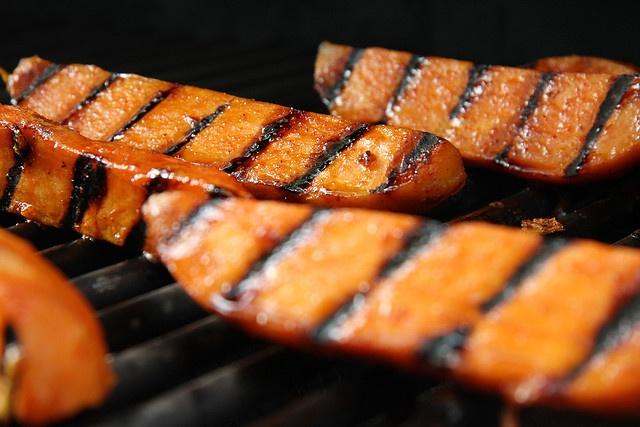 maple glazed sweet potatoes | Veg | Pinterest