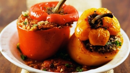 Wheatless Wednesday: Lamb-Stuffed Peppers | The Public Kitchen | Food ...