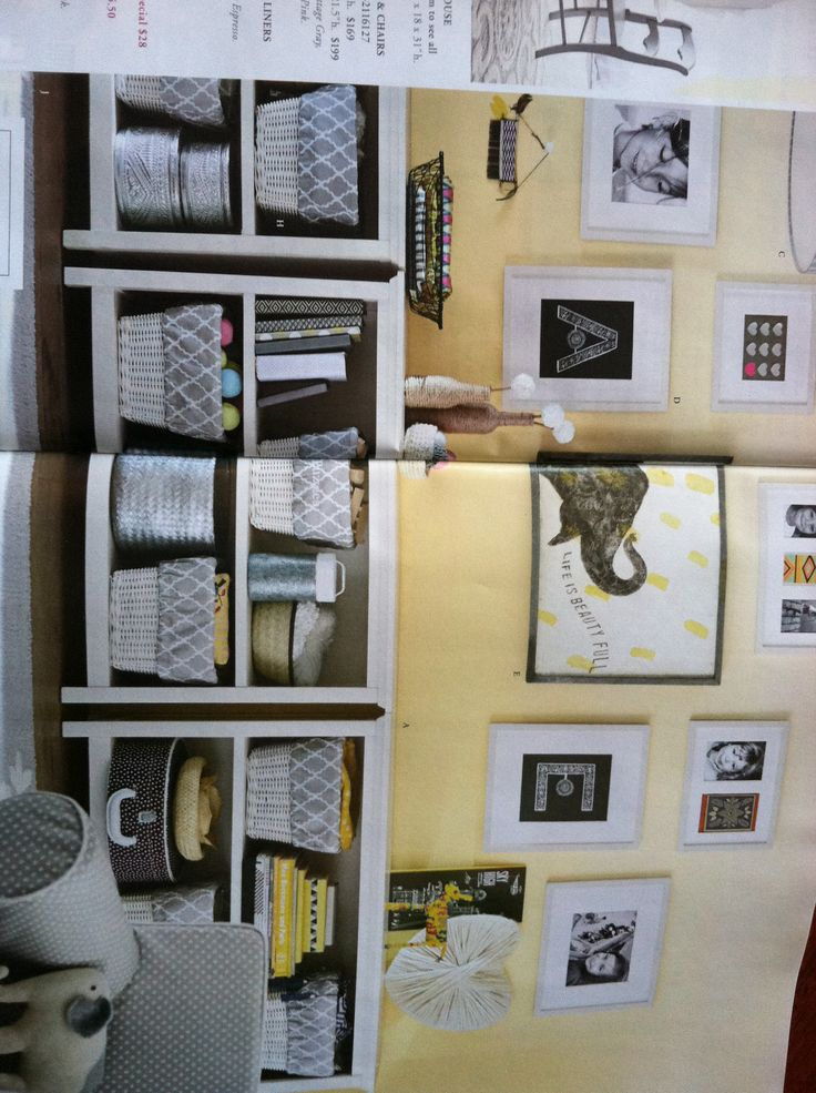 Gallery Wall Shelves Family Room Pinterest
