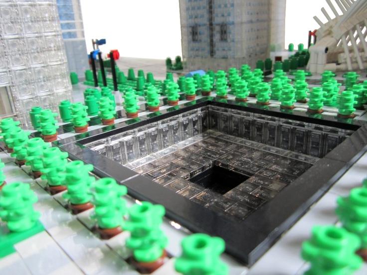 Reflecting pool ground zero legooo pinterest - Ground zero pools ...