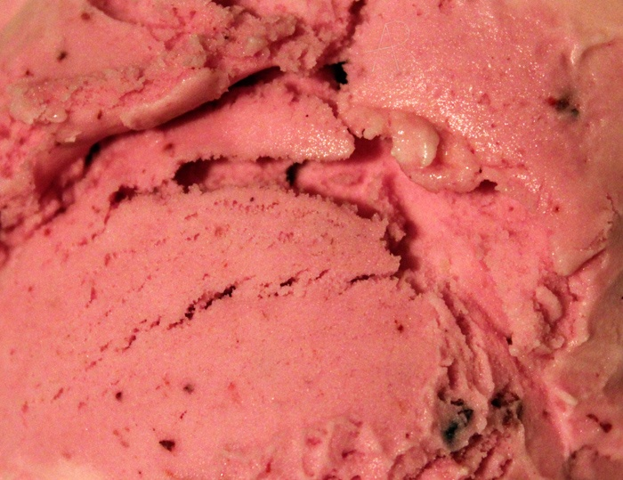 Trader Joe's Pomegranate Blueberry Sherbet. This stuff is absolutely ...