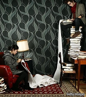 I wonder how stable a tower of books could be.