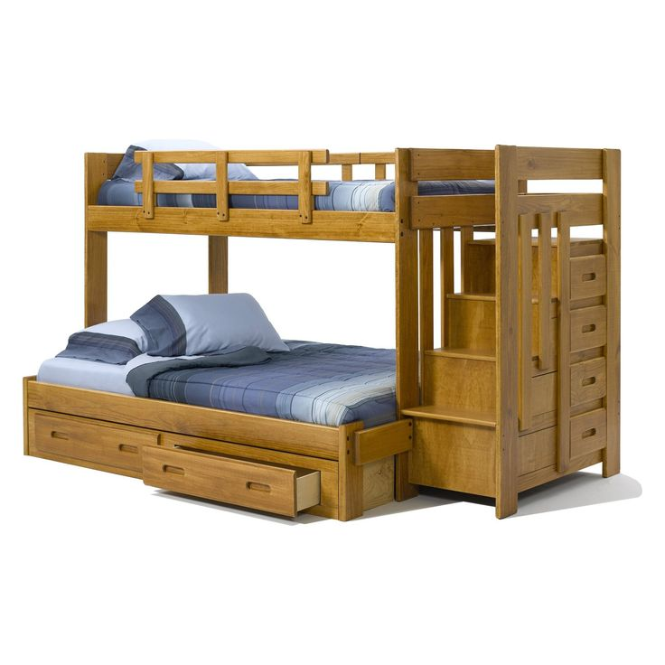 To have it heartland twin over full reversible stair bunk bed 809 99