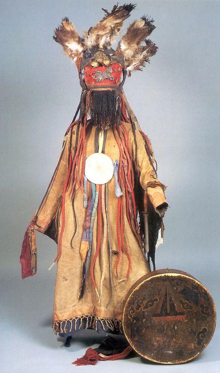 Своими руками костюм-шаман 43