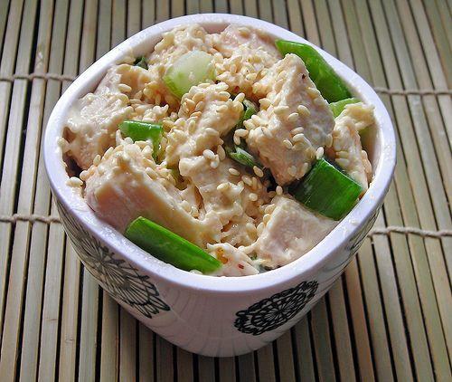 sesame chicken salad | Chicken salad | Pinterest