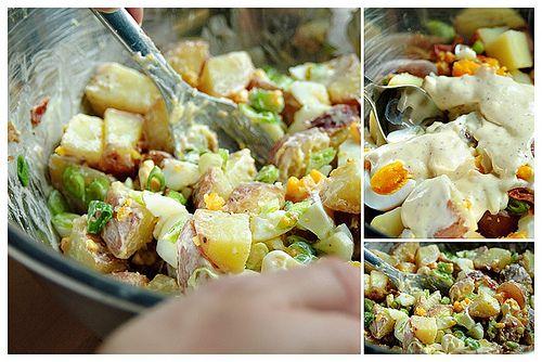 Country Potato Salad | yum yum: salads | Pinterest