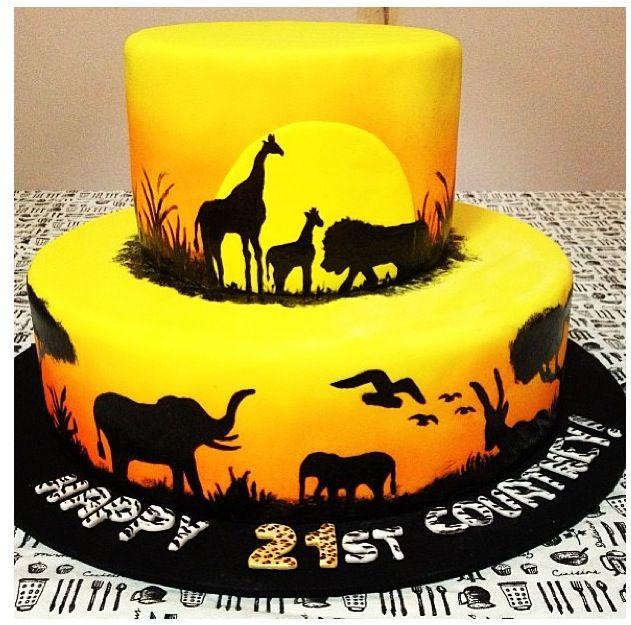 Lion King Cake Decoration Ideas : Lion King cake!!! Jungle cakes Pinterest