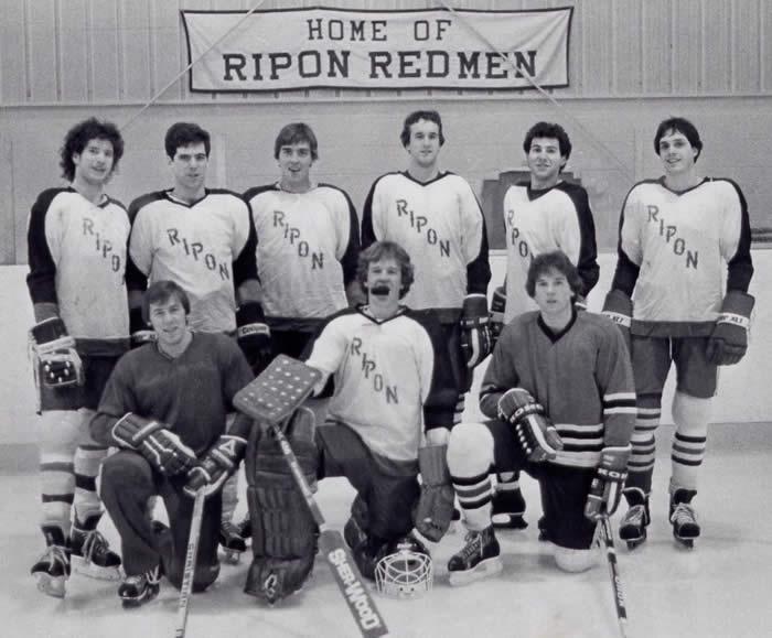 Club sports of the 70's: ice hockey