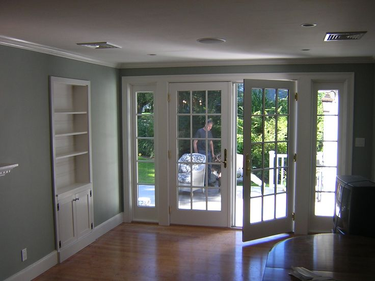 Deck and exterior french doors covered porch dreams for Exterior french doors with side windows