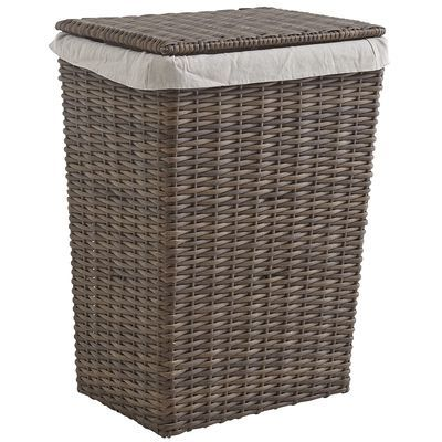 Echo beach hamper pier 1imports home decor pinterest for Pier one laundry hamper