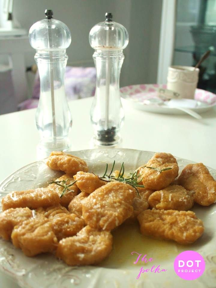 pumpkin gnocchi with rosemary butter | my food photography | Pinterest