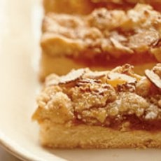 apricot orange bars with almond paste yummy : ) My Mom makes these ...