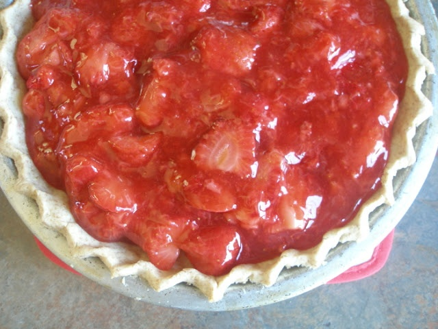 strawberry pie | All Sweets for the Sweet | Pinterest