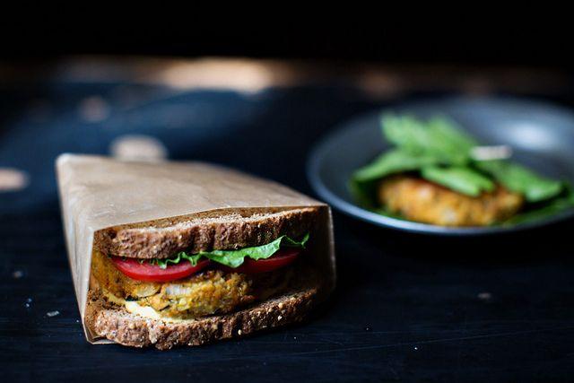 Zucchini Quinoa Veggie Burgers: http://food52.com/blog/4192_veggie ...