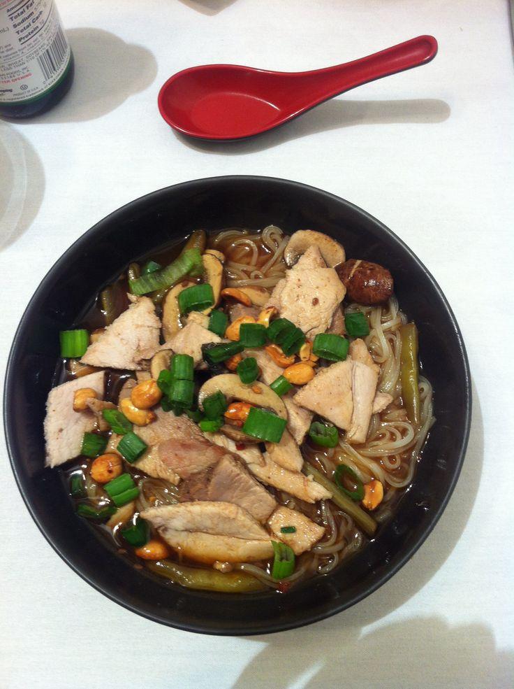 Slow cooker Pork Ramen Soup   Food I made from pinterest   Pinterest